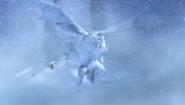 Snow-wraith