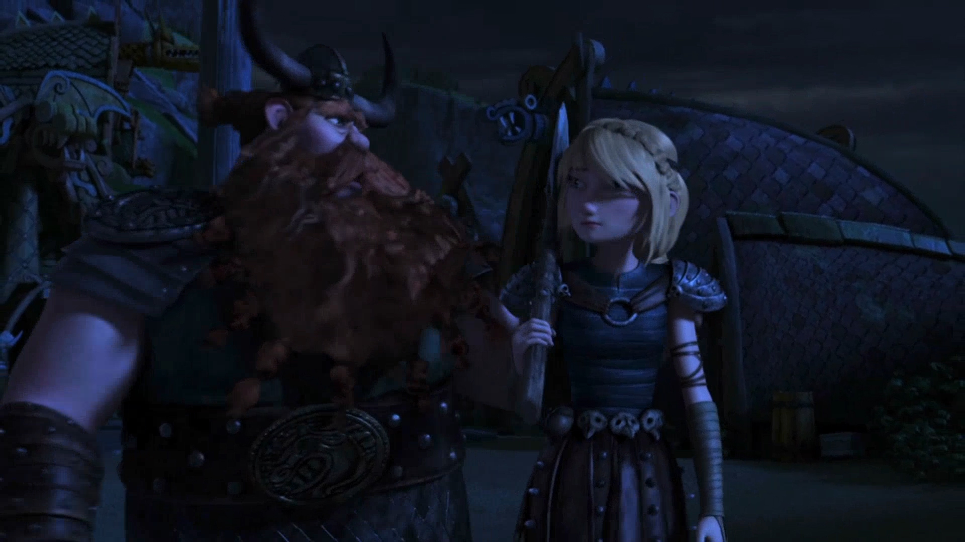 Astrid and Stoick's Relationship