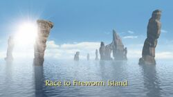 Click here to view more images from Race to Fireworm Island.