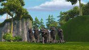 HHH - The wolves having stopped having seen Burple coming towards them
