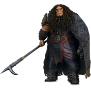 Drago's full body Render