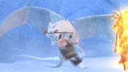 Snowwraith biting