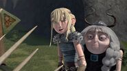 Hiccup's not back yet