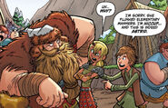 TIC-Astrid, Dammen, Hiccup
