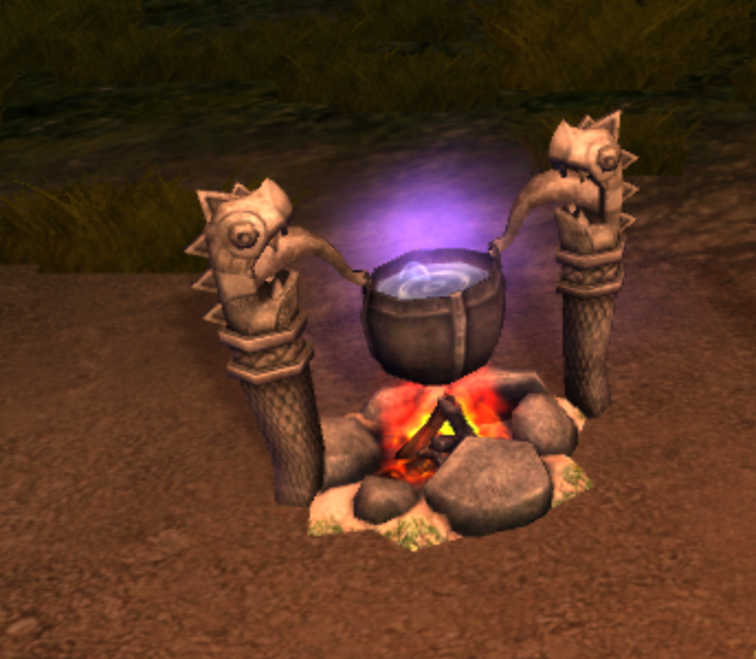 Dragon's Edge Cauldron