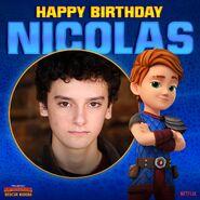 Happy Birthday Nicolas Cantu