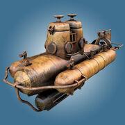 Viejo submarino