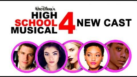 High School Musical 4-High School Musical 4 potential Cast