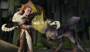 Valka and the hobblegrunt leak by frie ice-d6zl5ff