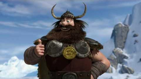 HOW TO TRAIN YOUR DRAGON - Dragon-Viking Games Vignettes- Bobsled