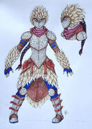 Httyd 3 woolly howl scales armor by syraza dciczav-fullview