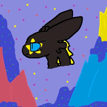 Esteria the night fury/Cartoon Attempts