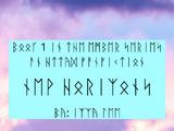 New Horizons (Runic Translation)