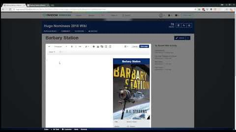 How to add a nominee to the Hugo Nominees 2018 Wiki-0
