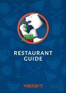 W75 Restaurant Guide cover