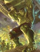 Immortal Hulk Vol 1 20 Ross SDCC 2019 Exclusive Variant A Textless