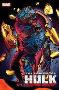 Immortal Hulk Vol 1 38 Living Hulk Horror Variant