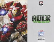 Immortal Hulk Vol 1 18 Marvel Battle Lines Wraparound Variant
