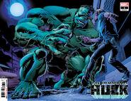 Immortal Hulk Vol 1 1 Second Printing Wraparound Variant