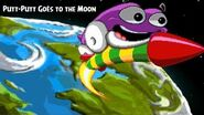 Putt-Putt Goes to the Moon PC Playthrough - Lunar Roving Putt-Putt