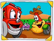 Putt-Putt, Outback Al and Smokey
