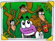 Putt-Putt and the Rhyming Monkeys