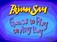 PajamaSam GamestoPlayonAnyDayTitleCard