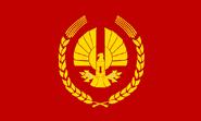 Drapeau Panem Dictature