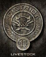 District 10 Sceau