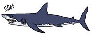 Deep blue sea mako shark updated by sonic2006fan-dcapas8