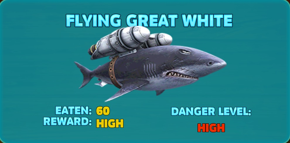 Flying Great White