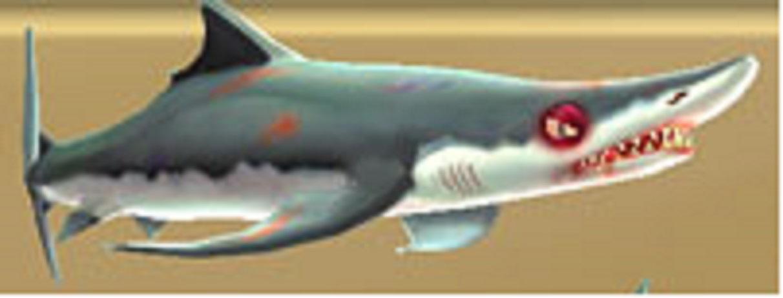 Evil Blue Shark