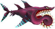 Buzz (Helicoprion) no background