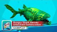 Hungry Shark Heroes Gameplay HD (Android) Megalodon Fighting and Eorhincodon Unlocked