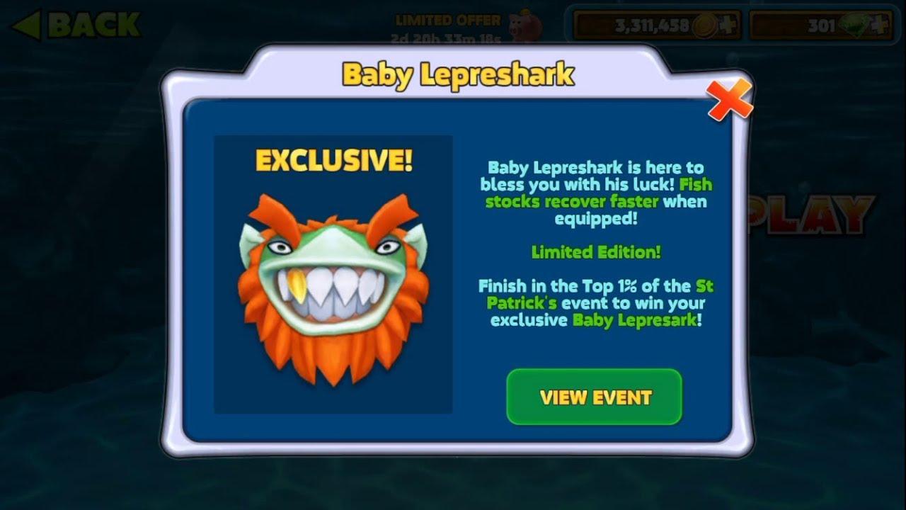Baby LepreShark