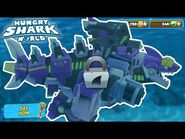 New MECHA Godzilla Shark Unlocked!!! - Hungry Shark World - HD