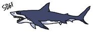 Mako shark deep blue sea by sonic2006fan-dbys980