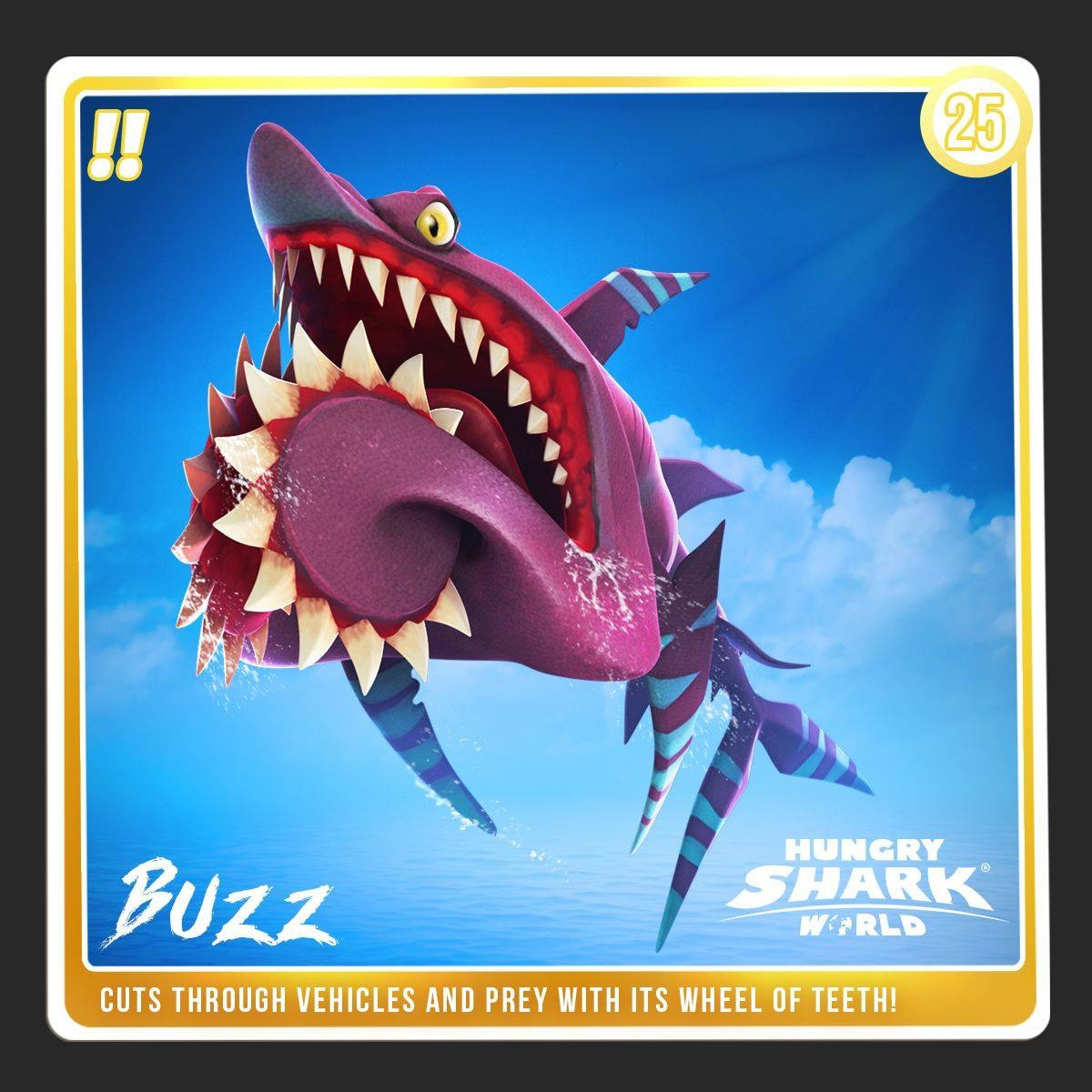 Buzz (Helicoprion)