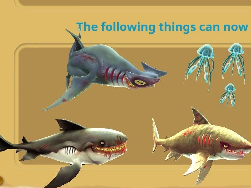 Enemy XL sharks