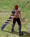 Red Bloody Blade