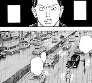 Chap 111 - Nobunaga, Pakunoda, and Kortopi confronting Squala