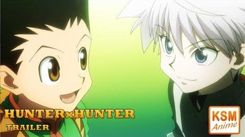 HUNTERxHUNTER - TRAILER Deutsch (German)