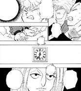 Chap 113 - Pakunoda preparing to read Gon and Killua's memories again