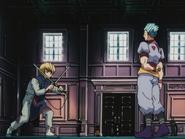 Kurapika versus Hisoka