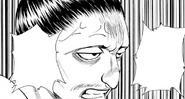 Chap 112 - Nobunaga swearing to remember Kurapika's name and face until he kills him