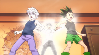 Wing initiating Gon and Killua to Nen.png