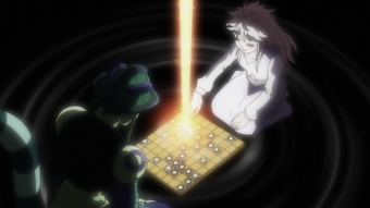 Komugi Hunterpedia Fandom It's a fictional game which appears to take conceptual origins from chess, go, and other strategic board games. komugi hunterpedia fandom