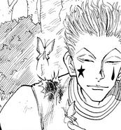 Chap 25 - Hisoka with the butterflies