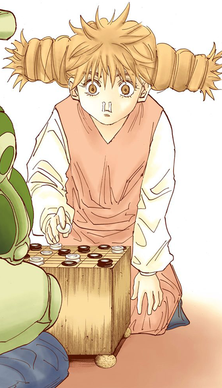 Komugi Hunterpedia Fandom Komugi and meruem play a game called gungi. komugi hunterpedia fandom