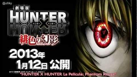 Hunter x Hunter Phantom Rouge Trailer 1 Sub Esp